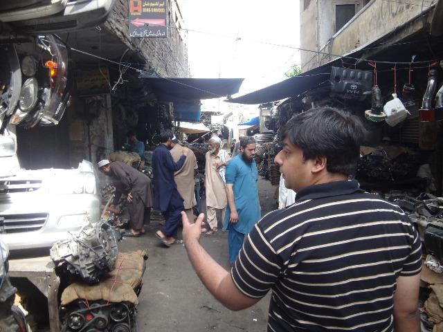 パキスタン渡航